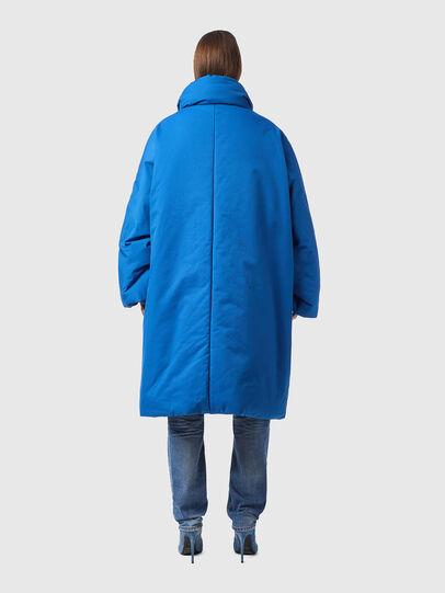 Diesel - W-THEA, Blue - Winter Jackets - Image 2