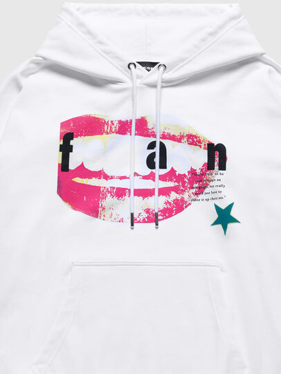 Diesel - US-S-ALBY, White - Sweaters - Image 3