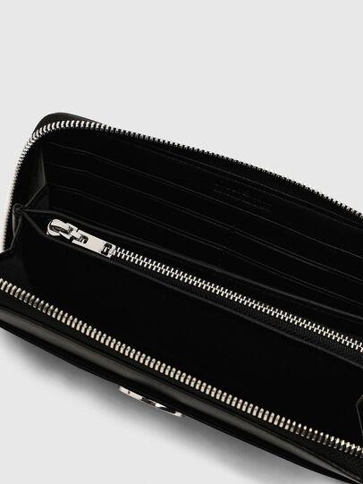 Diesel - GRANATO LC, Black - Zip-Round Wallets - Image 5
