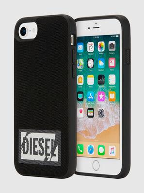 BLACK DENIM IPHONE 8/7/6S/6 CASE, Black - Cases