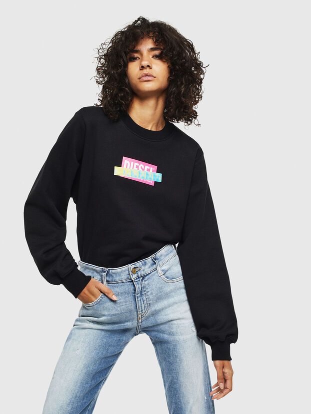F-ANG-S1, Black - Sweaters