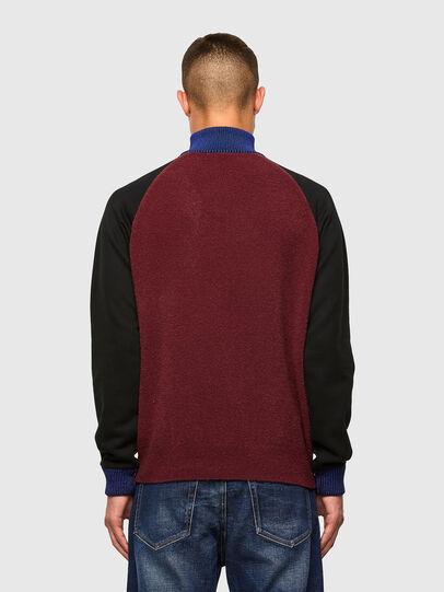 Diesel - K-PHIL, Black/Red - Knitwear - Image 2