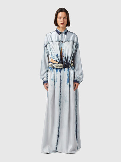 Diesel - D-SUKI, Light Blue - Dresses - Image 2