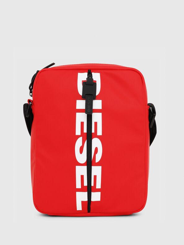 F-BOLD SMALL CROSS, Red - Crossbody Bags