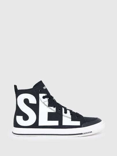 Diesel - S-ASTICO MID CUT, Black/White - Sneakers - Image 1