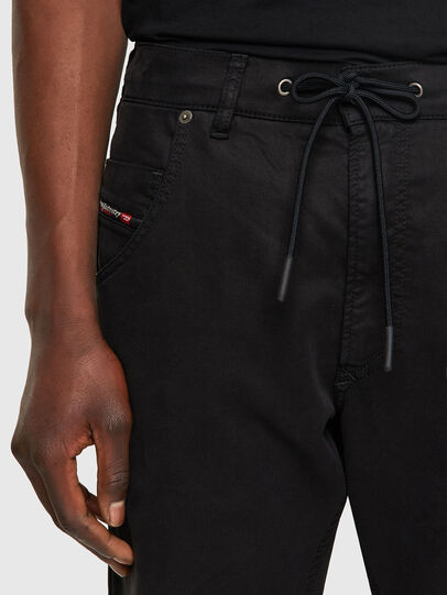 Diesel - Krooley JoggJeans® 069NC, Black/Dark grey - Jeans - Image 4
