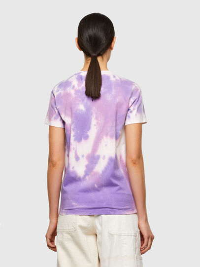 Diesel - T-SILY-A12, Lilac - T-Shirts - Image 2
