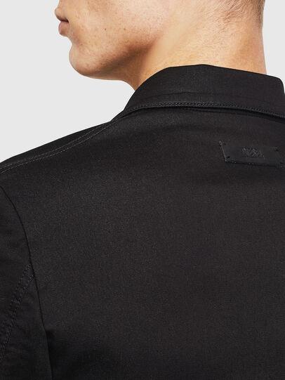 Diesel - D-GYACK JOGGJEANS, Black - Denim Jackets - Image 7