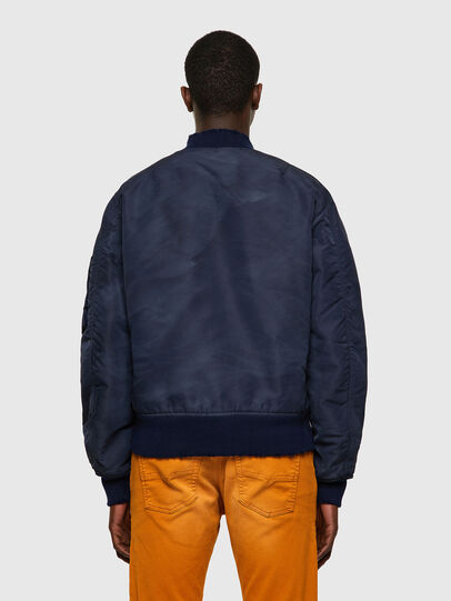 Diesel - J-MA-ONE-A, Dark Blue - Jackets - Image 2