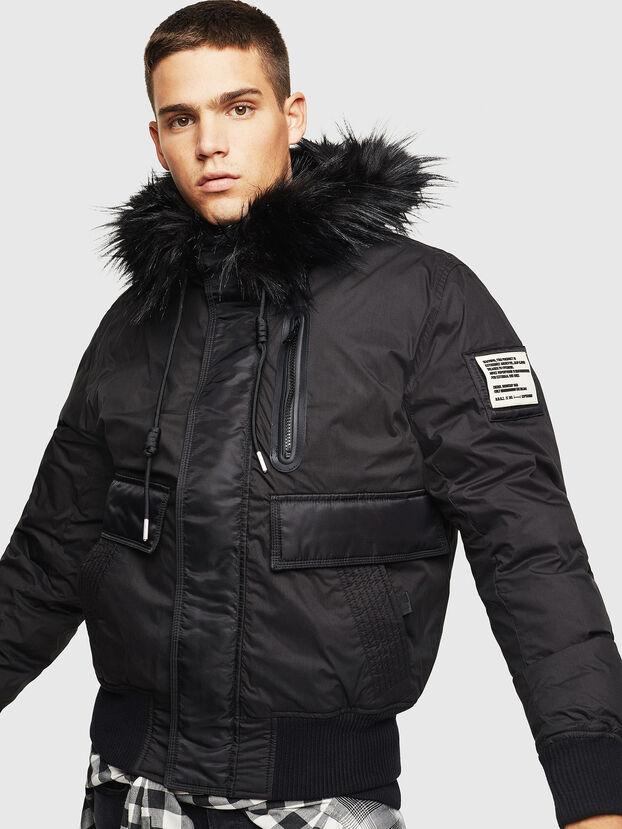W-BURKISK, Black - Winter Jackets