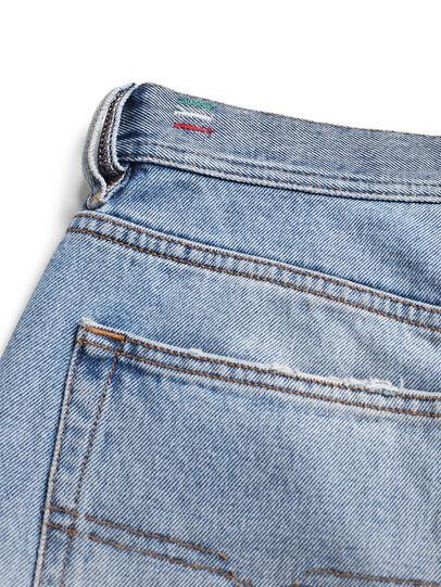Diesel - D-DEEPCHECKDENIM, Light Blue - Pants - Image 8