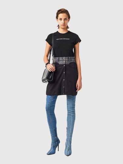 Diesel - O-LIA, Black - Skirts - Image 4