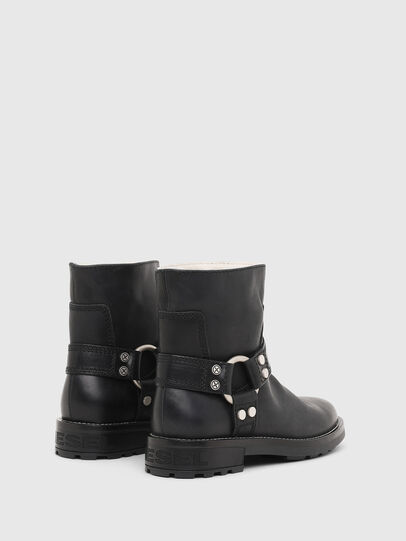 Diesel - D-THROUPER AB W, Black - Ankle Boots - Image 3
