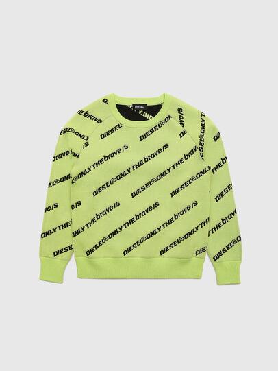 Diesel - KDAVIS, Green Fluo - Knitwear - Image 1