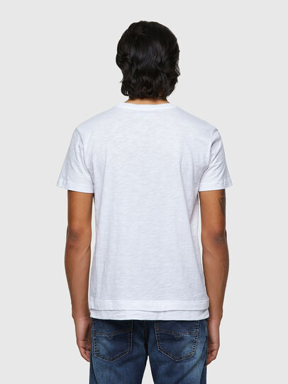 Diesel - T-RONNIE, White - T-Shirts - Image 2