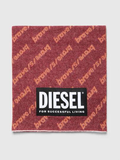 Diesel - SUBRE, Red - Scarf - Image 1