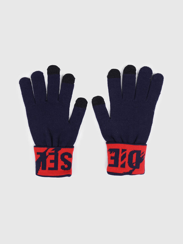 K-SCREEX, Black/Red - Caps, Hats and Gloves