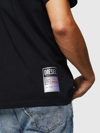 Diesel - T-JUST-B26, Black - T-Shirts - Image 3