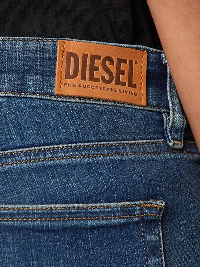 Diesel - Slandy Low 069KW, Dark Blue - Jeans - Image 4