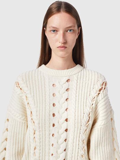 Diesel - M-NEBRASKA, White - Knitwear - Image 4