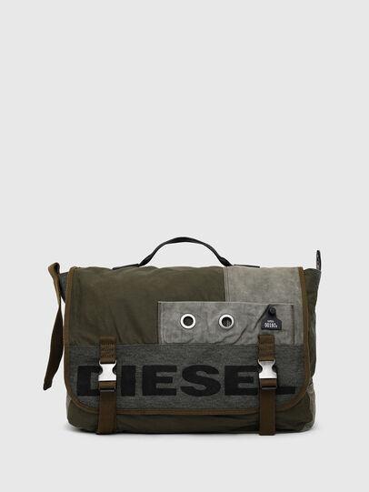 Diesel - BIVIO, Olive Green - Crossbody Bags - Image 1