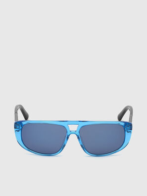 DL0306, Blue/Black - Kid Eyewear
