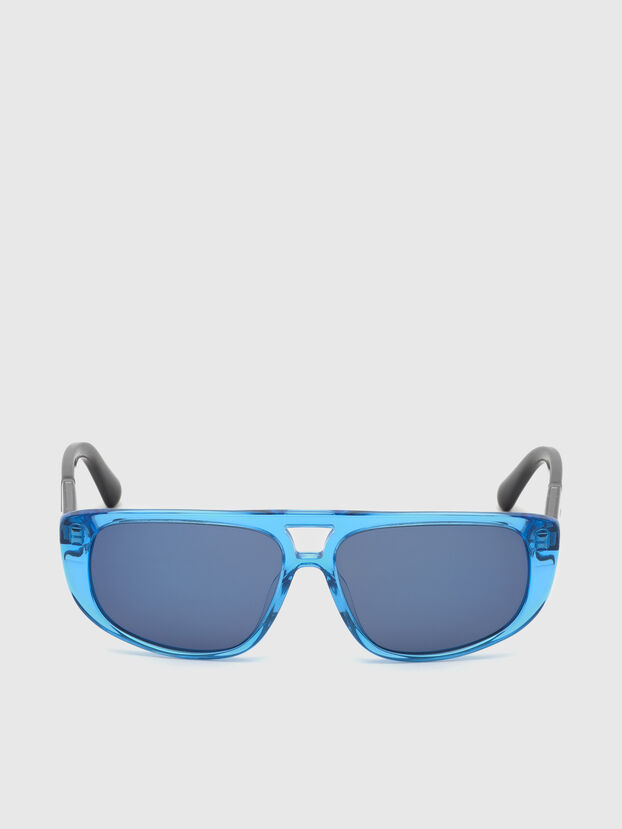 DL0306, Blue/Black - Kid Eyewear