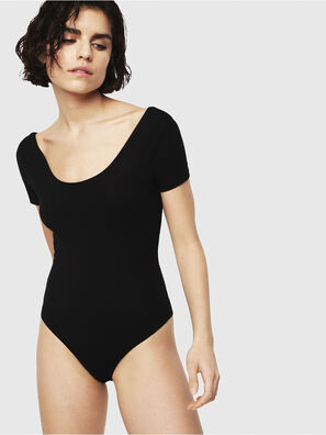 UFTK-BODY-SV, Black - Bodysuits