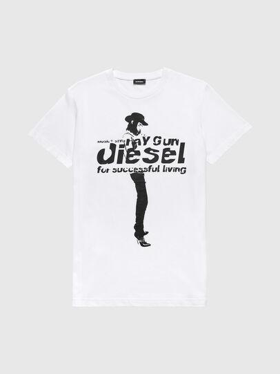 Diesel - US-T-DIEGO, White - T-Shirts - Image 1