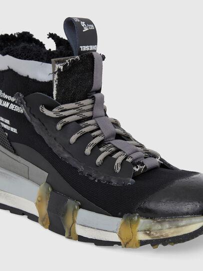 Diesel - H-PADOLA GL, Black - Sneakers - Image 4