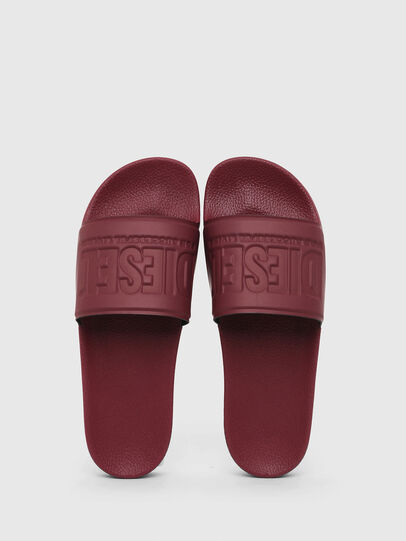 Diesel - SA-VALLA, Bordeaux - Slippers - Image 4