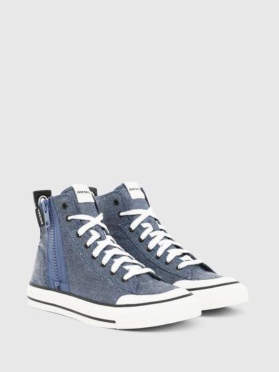 Diesel - S-ASTICO MID ZIP, Light Blue - Sneakers - Image 2