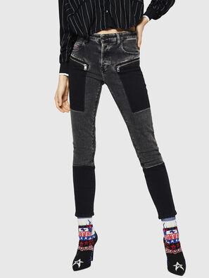 Babhila 0890T, Black/Dark grey - Jeans