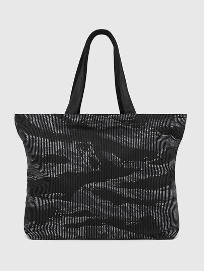 Diesel - D-THISBAG SHOP M, Black - Shopping and Shoulder Bags - Image 2