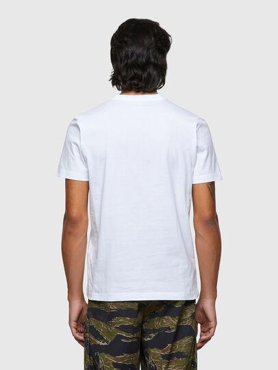 Diesel - T-DIEGOS-ECOLOGO, White - T-Shirts - Image 2