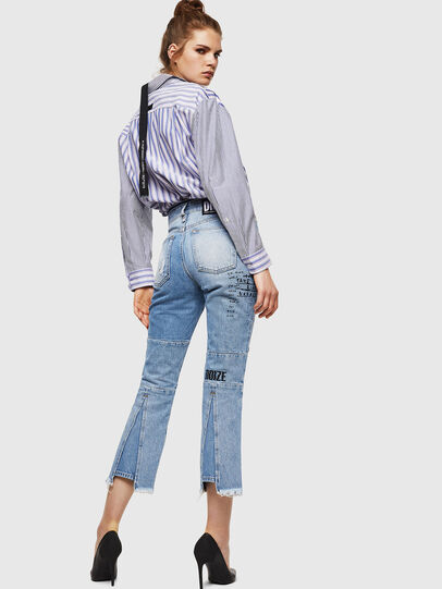 Diesel - D-Earlie 069GV, Light Blue - Jeans - Image 7