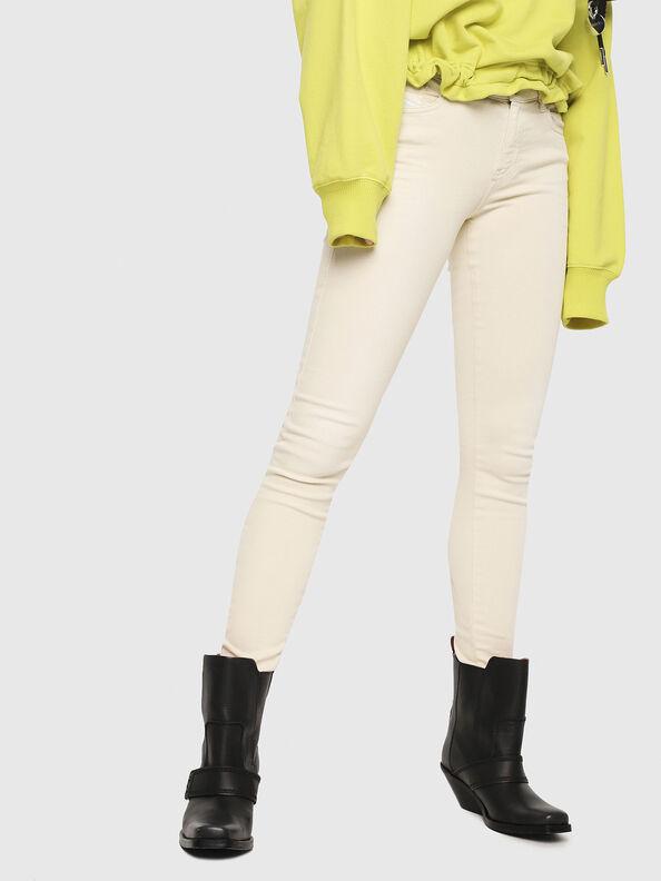 Slandy 084BZ, Cream - Jeans