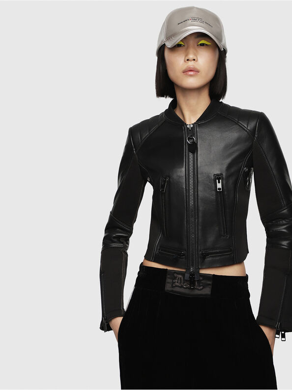 L-MARI,  - Leather jackets