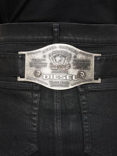 Diesel - DE-FEDY-SP, Black - Skirts - Image 4