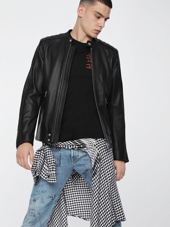 L-QUAD,  - Leather jackets