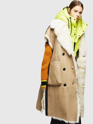 L-IRTA, Beige - Leather jackets