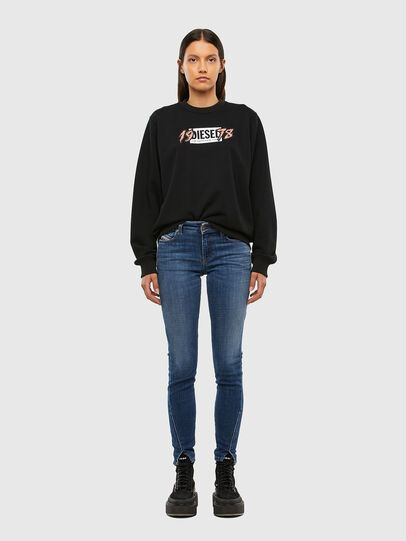 Diesel - F-ANG-K12, Black - Sweaters - Image 4