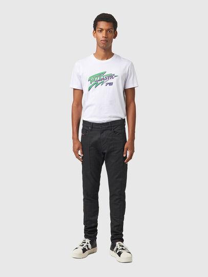 Diesel - D-Strukt JoggJeans® 069YH, Black/Dark grey - Jeans - Image 5