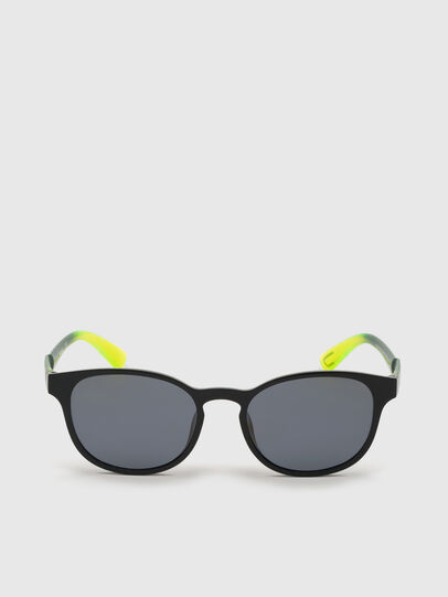 Diesel - DL0328, Black/Yellow - Sunglasses - Image 1
