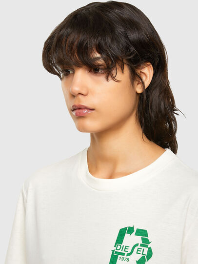 Diesel - T-JUST-N40, White - T-Shirts - Image 6