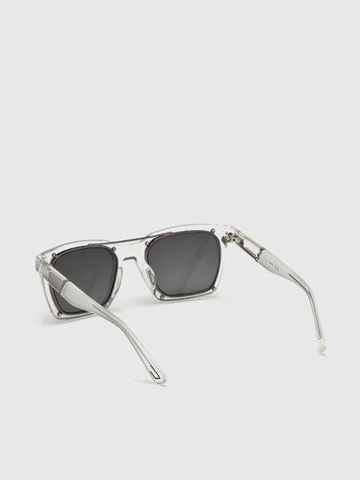 Diesel - DL0250, White - Sunglasses - Image 2