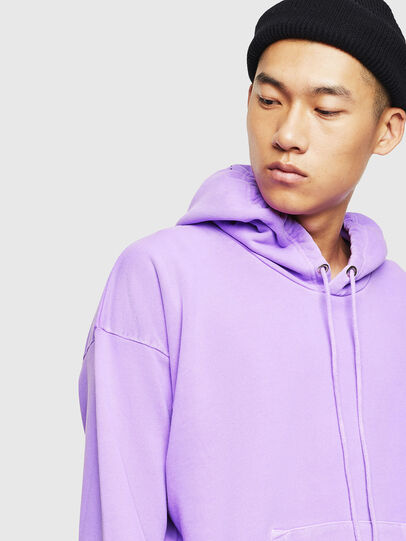 Diesel - S-ALBY-FLUO, Lilac - Sweaters - Image 4