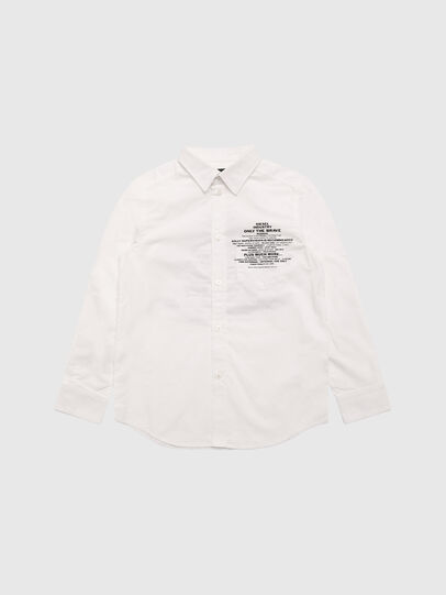 Diesel - CPROAD, White - Shirts - Image 1