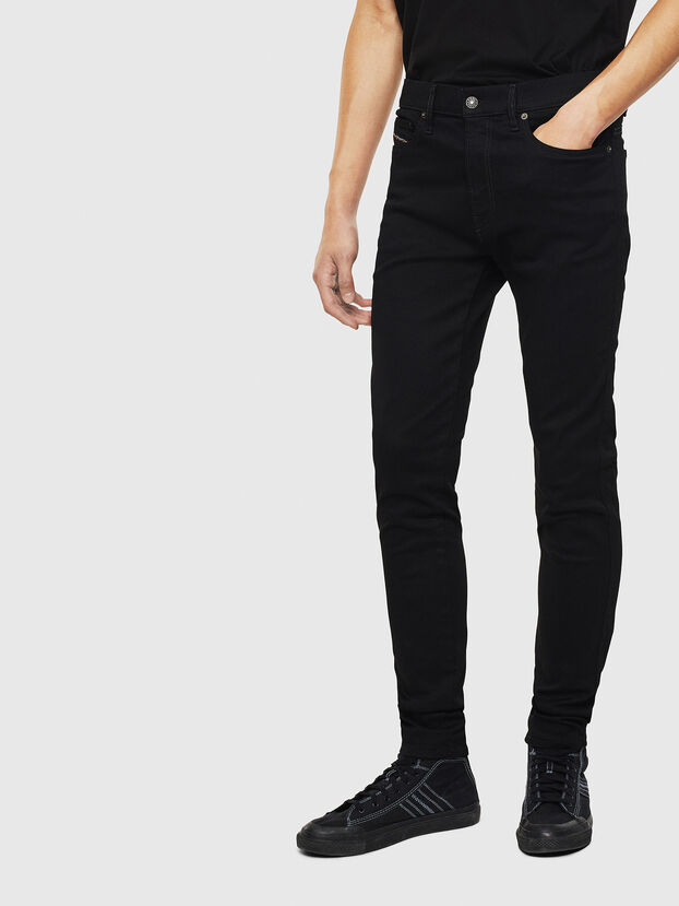 D-Istort 069EF, Black/Dark grey - Jeans