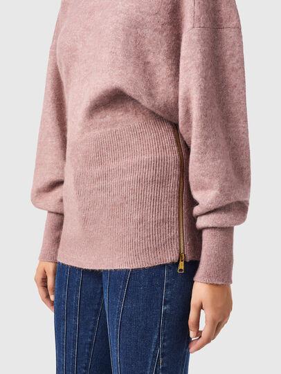 Diesel - M-BRUNS, Pink - Knitwear - Image 3